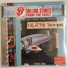 The Rolling Stones Live At The Tokyo Dome 1990 4-LP + DVD UK 2015 drop-down