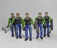 LOT OF 5 UNIMAX  Bravo Team Secret Soldier Force Military Action Figure 1:18
