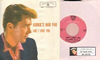 Byrnes, Edd & Friend - Kookie's Mad Pad Vinyl 45 rpm record PS Free Shipping