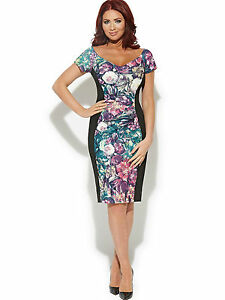 Amy Childs Flora Off Shoulder Evening Occasion Dress BNWT NEW Multiple Sizes