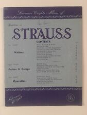 LAWRENCE WRIGHT'S ALBUM OF REPERTOIRE OF STRAUSS