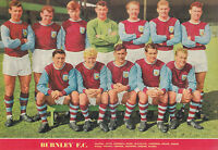 BURNLEY FOOTBALL TEAM PHOTO>1961-62 SEASON