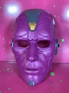 youth Marvel comics Avengers Vision mask & wallet ONLY costume Age of Ultron '15