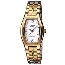 Casio Orologio ltp-1281pg-7aef Donna Orologio da Polso in Acciaio Inox Oro Bianco Watch NUOVO & OVP