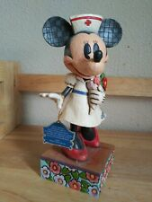 "Walt Disney Collection "" Caring Is Contagious"" # 4007665 Enesco Group Mickey."