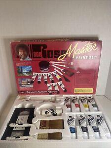 Bob Ross Master Paint Set VHS 1993 The Joy of Painting Open Box Unused