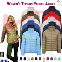 2786 NEW Women's Winters Quilted Padded Jacket Body Warmer Fitted Ladies Coat