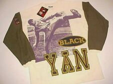 New York Black Yankees Satchel Paige Negro League Baseball White T-shirt XL New