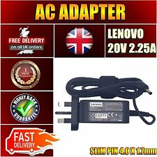 For Lenovo Ideapad 110-15ACL 80V7 New AC UK Mains Wall Adapter Charger 45W