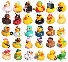 Enten Badeente 8 cm Quietscheente Gummiente Duck Schwimmente Bade Ente Badespaß