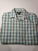 Men's Banana Republic Long Sleeve Button Up Non Iron Slim Fit Sport Shirt Size S