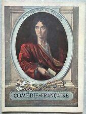 Programme COMEDIE FRANCAISE  Haraucourt LA PASSION Georges Le Roy 1933 *