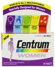 Centrum Women Zinc Vitamins & Minerals