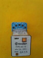 60.13 FINDER 10A 250V RELAY