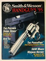 Vtg 1995 Smith & Wesson Handgun Firearms Catalog Polymer Sigma Series Powerport