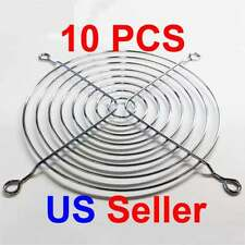 10pcs 120mm Chrome Metal Computer PC Fan Grill Mounting Finger Guard Protection