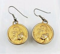 Vintage Walt Disney The Lion King Simba & Nala Earrings