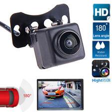 Car Rear View CCD 180° Night Vision Reverse Backup Parking Camera Waterproof NEW