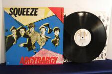 Squeeze, Argybargy, A&M Records SP 3232, 1980, Synth Pop, Power Pop, Pop Rock