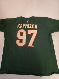 Fanatics Kirill Kaprizov XL JERSEY  TSHIRT Minnesota MN Wild