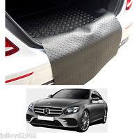 Mercedes W213 E Class saloon 2016+ rubber boot mat load liner boot lip protector