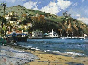 Catalina Yacht Club by Thomas Kinkade (Originals)