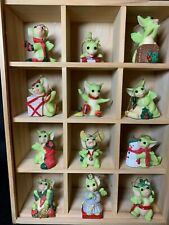 """The Whimsical World of POCKET DRAGONS """"THE 12 YEARS OF CHRISTMAS"""" MINT,LIMITED"""