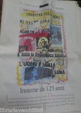 IL COMPLEANNO DEL CORRIERE DELLA SERA 1876 2001 Albertini Mario Borsa Tobagi di