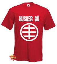 du HUSKER Punk, Nueva Ola, Rock, Indie Camiseta Todas Las Tallas
