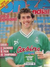 Onze Mondial 55/1993 France Russie Suede Argentine Copa