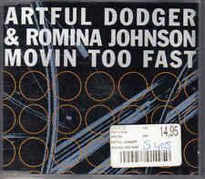 Artful Dodger&Romina Johnson- movin to Fast  cd maxi single