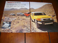 HUMMER H3 JEEP GRAND CHEROKEE NISSAN XTERRA TOYOTA FJ **ORIGINAL 2006 ARTICLE***