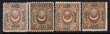 Turkey - SC# J7 - J10 - Mint Hinged (Some Hinge Rem / Minor Toning) - Lot 012217