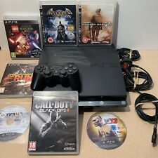 ⭐️ PlayStation 3 Slim Console Bundle With Controller & Great Games