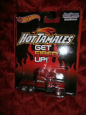 HOTWHEELS HOT TAMALES  GET FIRED UP LONG GONE  REAL RIDERS SEMI TRUCK