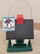 White Cottage Village Collection Bird Feeder - 9080