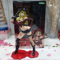 20CM  PVC Statue Freddy vs. Jason Figure Model Horror Bishoujo Toys Female Ver.