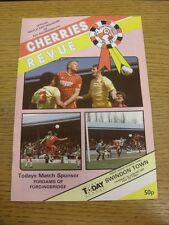 01/01/1987 Bournemouth v Swindon Town  . Thanks for viewing this item, buy in co