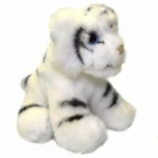 White Tiger 13cm Soft Toy - Small Plush Cuddly Toy Tiger