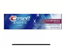 Crest 3D White Luxe Glamorous White Vibrant Whitening Toothpaste 136g / 4.8oz