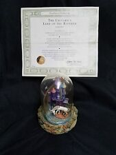 """The Franklin Mint """"Unicorn's Land of the Rainbow"""" Figurine under Dome - by Steve"""