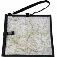 Black wanderer WATERPROOF MAP CASE for military hiking pouch bag reading