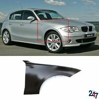 FRONT WING FENDER RIGHT WITH FLASHER HOLE COMPATIBLE WITH BMW 1 SERIES 2004-2013