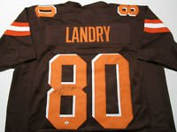 JARVIS LANDRY / AUTOGRAPHED CLEVELAND BROWNS CUSTOM FOOTBALL JERSEY / COA