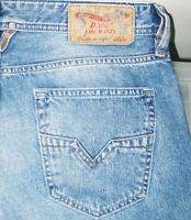 *HOT AUTHENTIC Men DIESEL @ LARKEE 800Z STRAIGHT LEG Jeans 31 x 34 (Fit 32 x 35)