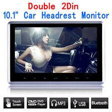 """10.1"""" HDMI Slim Headrest Monitor HD Digital Car DVD/USB/SD Player Portable IR/FM"""