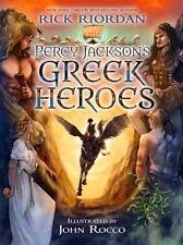 Percy Jackson's Greek Heroes by Rick Riordan (2015, Hardcover)
