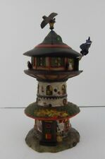 Dept 56 Halloween Witch Way Home Tower #4051009 New Retired