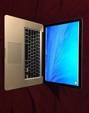 """Apple MacBook Pro 15"""" 2GHz Quad Core i7-8GB RAM-256GB SSD-MC721LL/A Office+Adobe"""