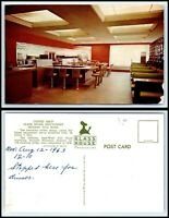 INDIANA Postcard - Indiana Toll Road, Glass House Restaurant - Coffee Shop F28